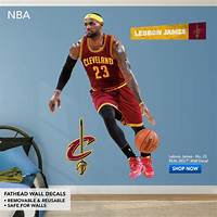 lovely nba wall decals Basketball Wall Decals & Graphics   Shop Fathead® NBA