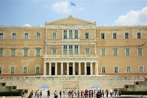 Greek Parliament Building In Athens Editorial Stock Photo ...