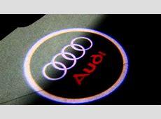 LED Logo Einstiegsbeleuchtung Audi 80,90,100, A3,A6,A4,S4