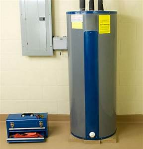 Water Heater Anatomy Electric