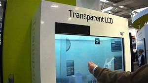 Samsung Transparent Screen Display Cebit 2011