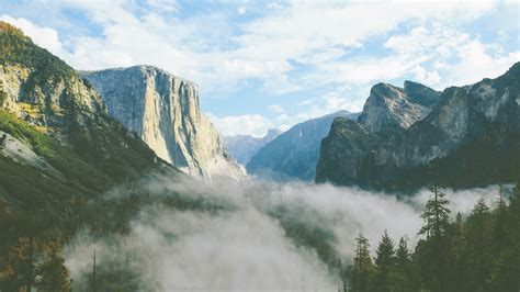 wallpaper yosemite valley el capitan summit california