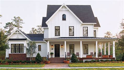 New One Story House Plans by Southern Living House Plans Farmhouse One Story House