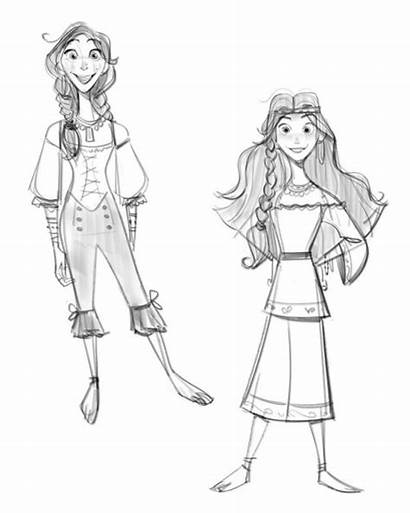 Willow Tangled Disney Way Queen Rapunzel Concept