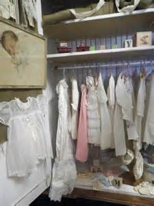 Vintage Baby Clothing Display