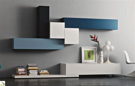 parete soggiorno moderna elen arredo design
