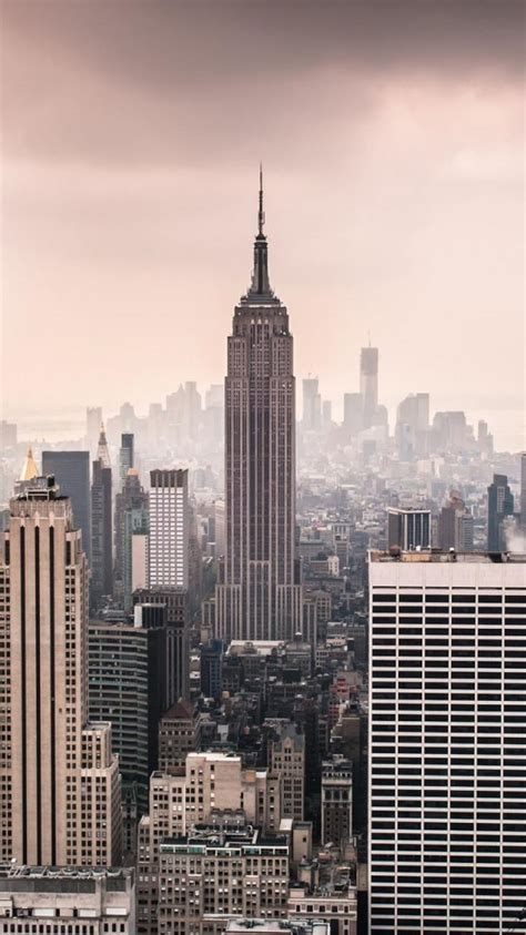 Cityscapes New York City Manhattan Empire State Building