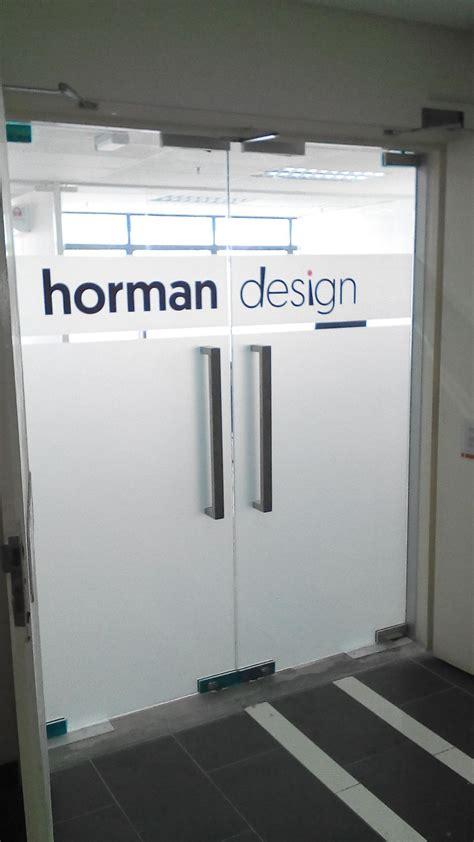 office door signage company  logo