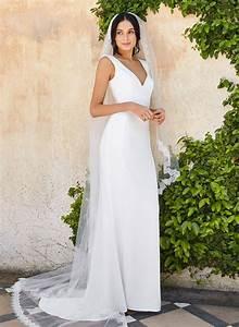 modern minimalist wedding dress anna schimmel With minimalist wedding dress