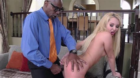 Petite Blonde Aaliyah Love Pays Hubbys Debt By Fucking A