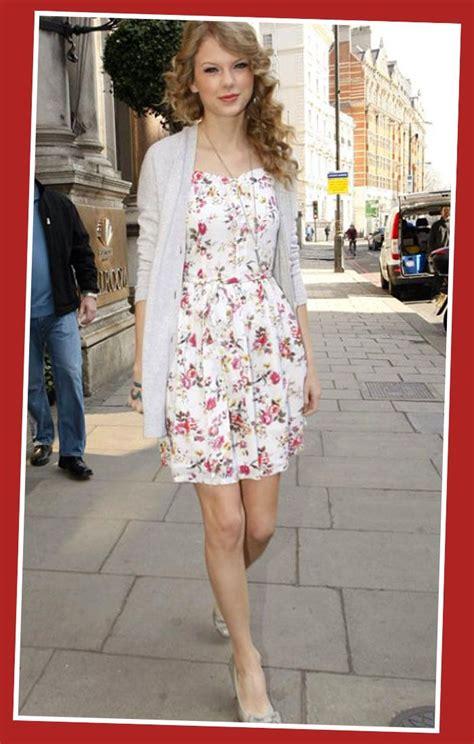 taylor swift fashion taylor swift casual dresses print