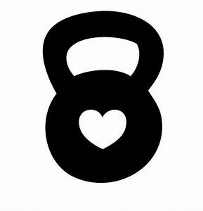 kettlebell heart decal   CrossFit   Pinterest   We, The o ...