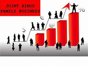 Concept of Joint Hindu Family Business : Meaning, Features ...