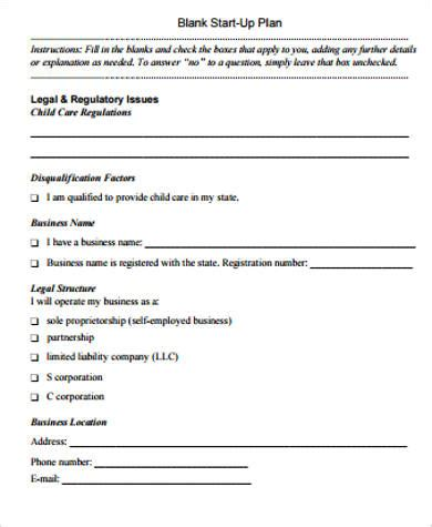 sample daycare business plan templates  ms word