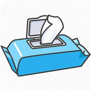 Baby, child, cleaning, tissues, water, wet, wipes icon ...
