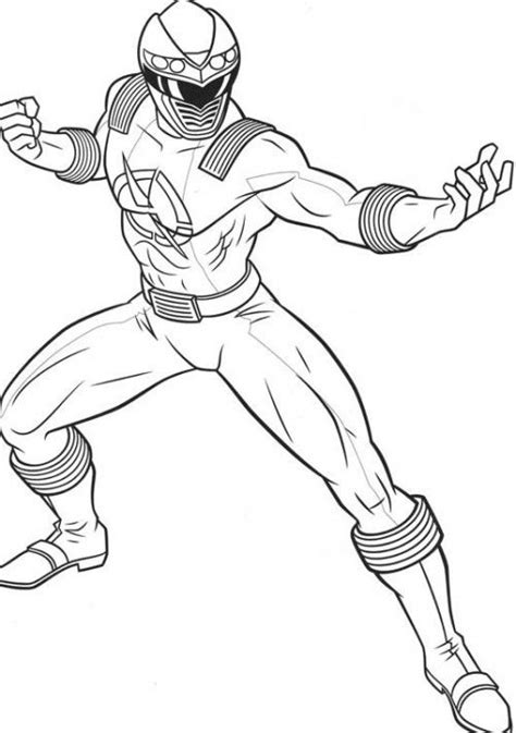 power rangers ready  fight monsters coloring page