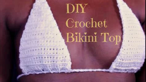 diy     crochet bikini top youtube