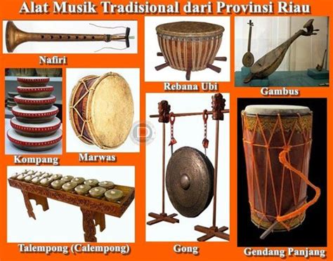 Alat musik gambus selain ditampilkan dalam orkes gambus, biasanya digunakan untuk mengeringi tari zapin khas riau. Pin di Alat Musik Tradisional Indonesia