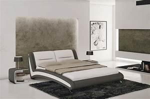 Lit Adulte 140x190 : lit adulte en cuir de luxe mobilier priv ~ Teatrodelosmanantiales.com Idées de Décoration