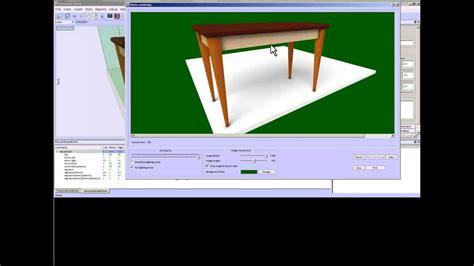 sketchlist  woodworking furniture design software