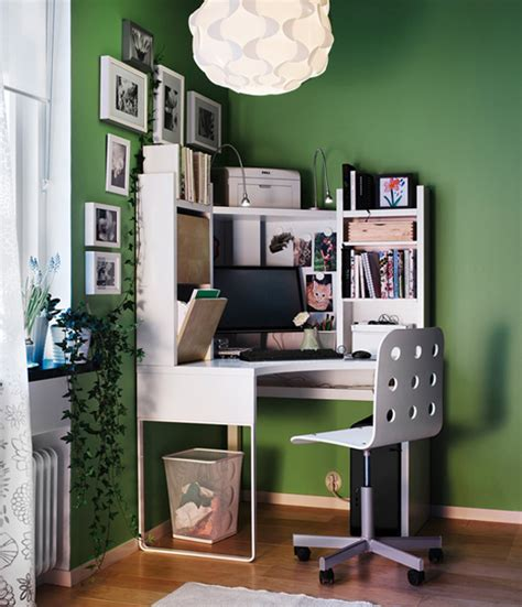 corner desk ideas for small spaces ikea workspace organization ideas 2011 digsdigs
