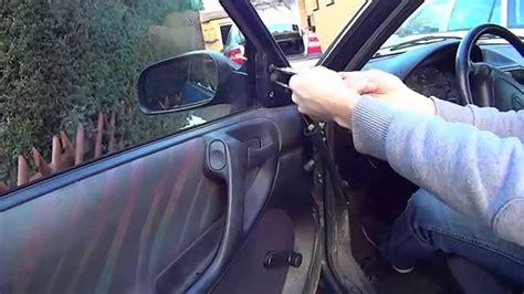 außenspiegel glas wechseln opel astra f au 223 enspiegel wechseln anleitung