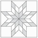 Quilt Star Pattern Barn Patterns Lone Templates Quilting Bing Paper Amish Quilts Guardado Desde sketch template