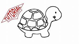 How to draw a turtle. Easy step-by-step drawing lessons ...