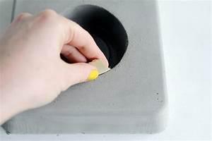 Beton Schleifen Schleifpapier : blumentopf aus beton selber machen anleitung ~ Watch28wear.com Haus und Dekorationen