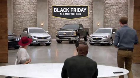 chevrolet black friday sale tv commercial