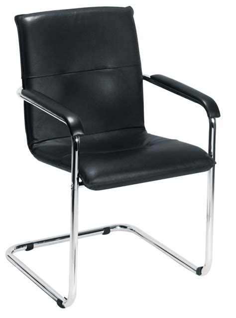 seat pavia pavia cantilever leather conference chair