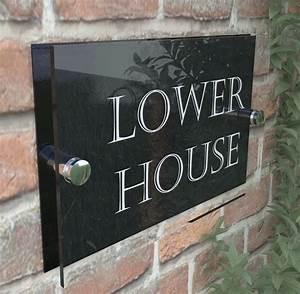 Modern, House, Signs, Door, Plaque, Numbers, Acrylic, Pcs, Steel, Perspex, Free, P, U0026p