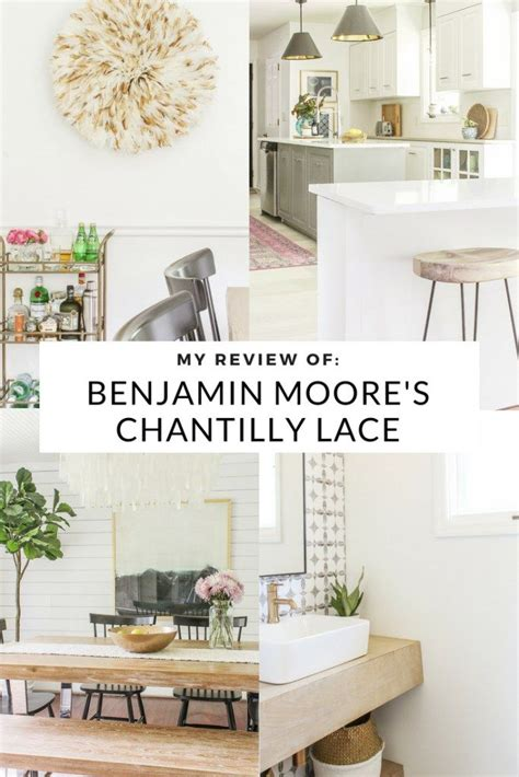 review  benjamin moores chantilly lace  white