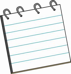 Pad Of Paper Clipart - Clipart Suggest