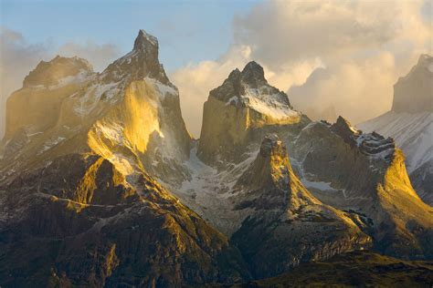 Torres del Paine National Park by John Eastcott and Yva
