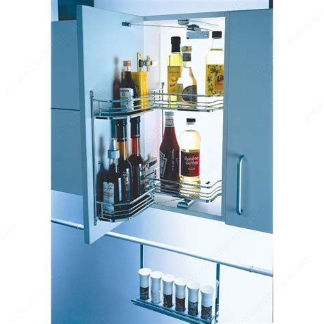 kitchen cabinet systems tandem swivel pull out system richelieu hardware 2801