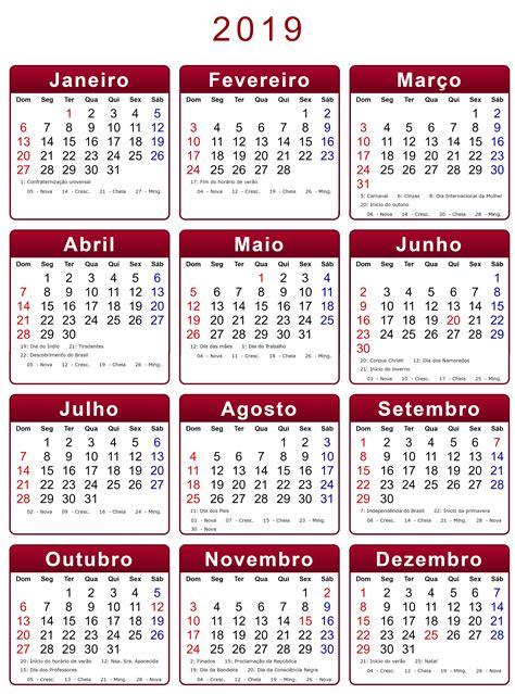 vuoto calendario da stampare mese