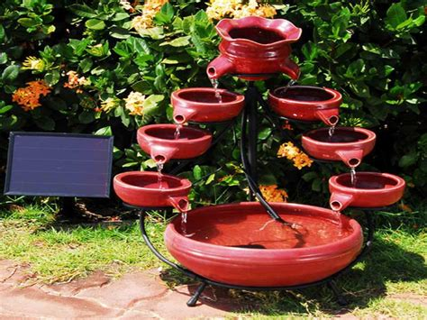 how to make a small water feature how to make a small water fountain fountain design ideas
