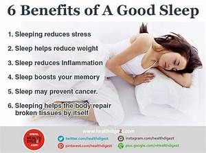 6 benefits of a good sleep must read these useful health With benefits of sleeping on back