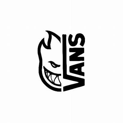 Vans Decal Spitfire Vinyl Stencil Simple Bold