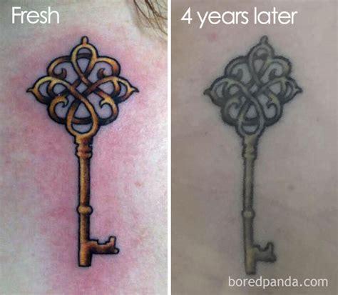 avantapres quand les tatouages prennent de lage