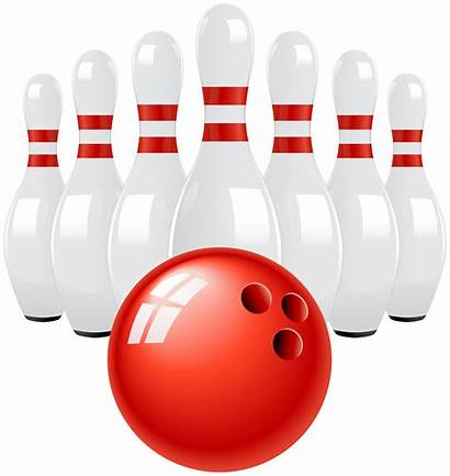 Bowling Ball Clip Pins Clipart Transparent Library