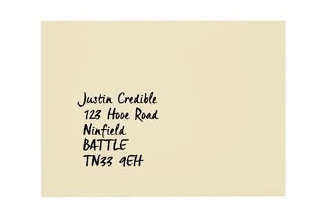 how to address an envelope all colour envelopes blog