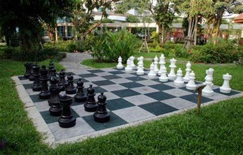 outdoor chess table the chess house news chess sets ingenious ideas 1290