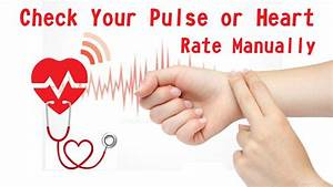 How to Take Pulse Rate Manually