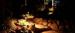 Landscape lighting service firman irrigation petoskey