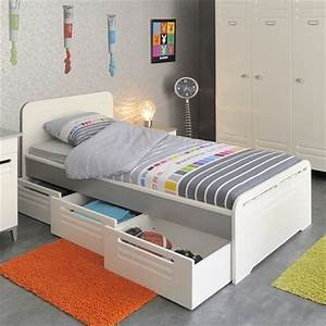 Lit Pas Cher Ikea : lit 1 personne tiroir rangement pas cher comparer les prix avec cherchons chambre enfant ado ~ Teatrodelosmanantiales.com Idées de Décoration
