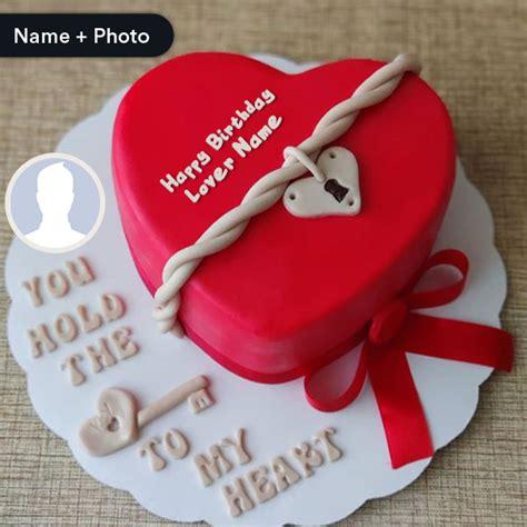 romantic birthday cake  lover