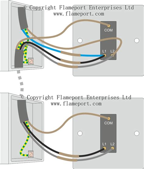 two way switch wiring diagram for two lights wiring