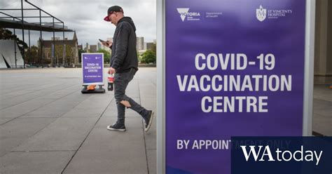 It is open to the public. COVID vaccine fallout: Victoria cancels under-50s vaccines after AstraZeneca call